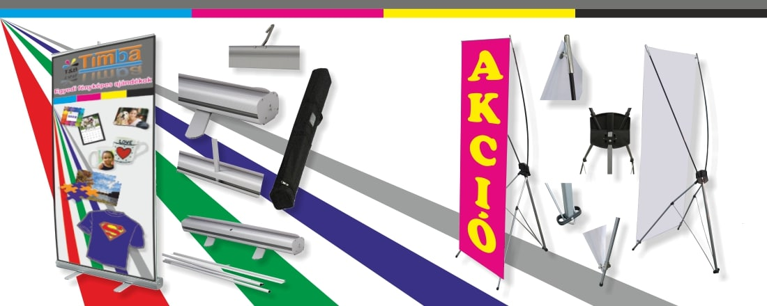 Roll-Up, X Banner