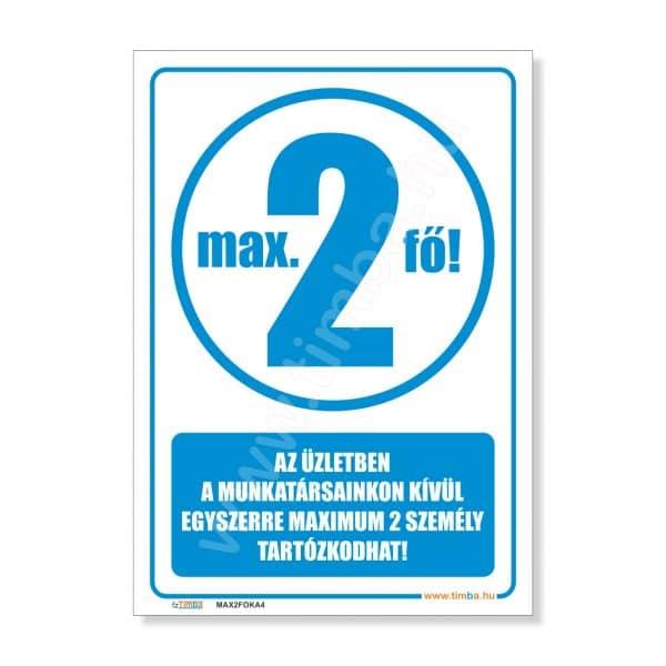 Max. 2 fo matrica kek