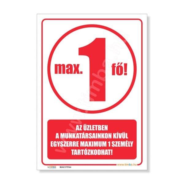 Max 1 fo